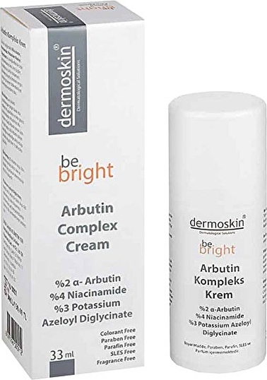 Dermoskin  Be Bright Arbutin Complex Cream 33ml Renksiz